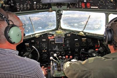 Våra piloter i cockpit