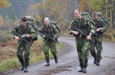 De fyras gäng, med chefen Filip Viktor i mitten