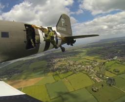 Fallskärmsjägarna i Normandie 2014